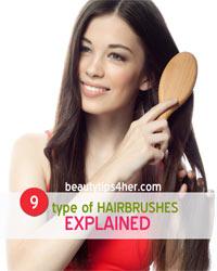Thumbnail image for 9 Type of Hairbrushes Explained