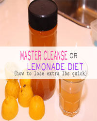 Thumbnail image for Master Cleanse or Lemonade Diet – How to Lose Extra Pounds Quick
