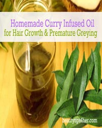 Thumbnail image for Homemade Curry Infused Oil for Hair Growth & Premature Greying
