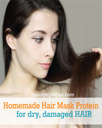 Thumbnail image for Homemade Hair Mask Protein for Dry, Damage Hair