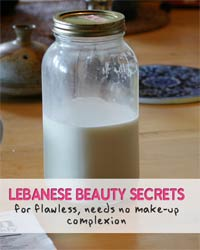 Thumbnail image for Lebanese Beauty Secrets to Flawless, Needs-no-makeup Complexion