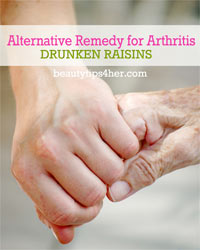 Thumbnail image for Alternative Remedy for Arthritis – Drunken Raisins