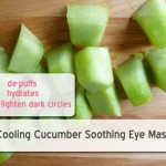 Refreshing Cucumber Eye Mask that Lightens Dark Circles