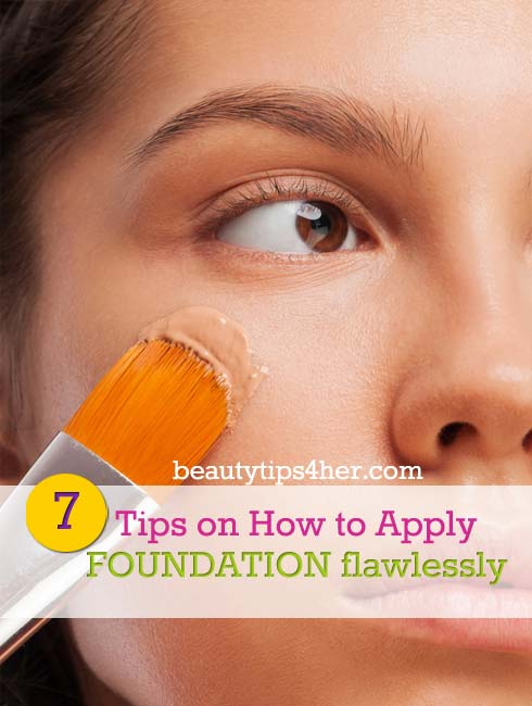 Learn How To Apply Foundation Like A Pro