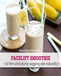 Thumbnail image for Facelift Smoothie: Firm and Plump Sagging Skin Naturally!