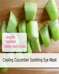 Thumbnail image for Soothing Cucumber Eye Mask that Lightens Dark Circles