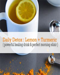 Thumbnail image for Daily Detox with Lemon + Turmeric – Powerful Healing Drink and Morning Elixir