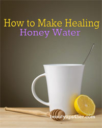 Thumbnail image for How To Make Healing Honey Water