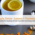 Daily Detox with Lemon + Turmeric – Powerful Healing Drink and Morning Elixir