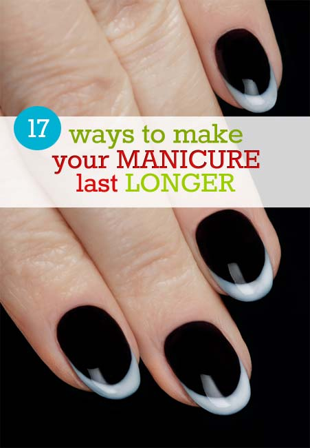 Make Gel Nail Polish Last Longer