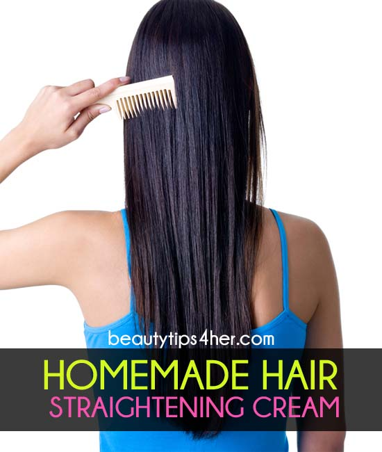 All Natural Straightening Cream To Eliminate Frizz