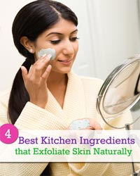 Thumbnail image for 4 Best Kitchen Ingredients that Exfoliate Skin Naturally