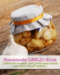 Thumbnail image for Homemade Garlic Drink – Effective Remedy That Can Purify Your Blood And Clean Blood Vessels