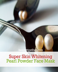 Thumbnail image for Super Skin Whitening Homemade Pearl Powder Face Mask