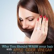 Natural Hair Cleansing with Apple Cider Vinegar for Softer, Silky Hair