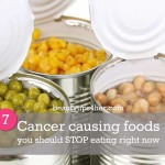 Stop Eating These 9 Cancer Causing Foods