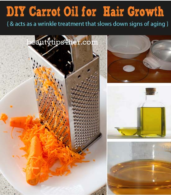 Grow long beautiful hair and improve skin with carrot oil natural beauty skin care - Diy uses for olive oil help from nature ...