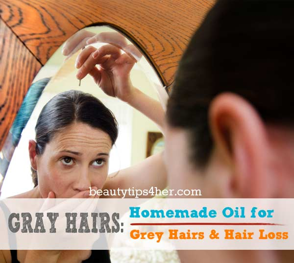 How Do I Get Rid Of Gray Hair Naturally