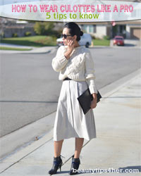 Thumbnail image for How to Wear Culottes Like a Fashion Pro