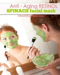 Thumbnail image for Anti-Aging Retinol Spinach Mask for Glowing, Youthful Skin