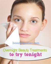 Thumbnail image for Overnight Beauty Treatments to Try Tonight