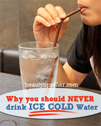 Thumbnail image for Why You Should Never Drink Ice Cold Water