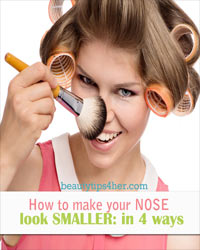 Thumbnail image for How to Make Your Nose Look Smaller: 4 Basic Ways