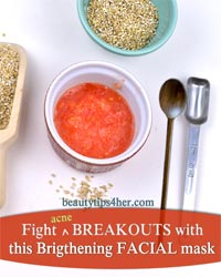 Thumbnail image for Fight Breakouts with Tomato Lemon Brightening Facial Mask