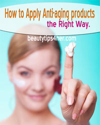 Thumbnail image for The Right Ways To Apply Your Anti-Aging Beauty Products So They'll Actually Work