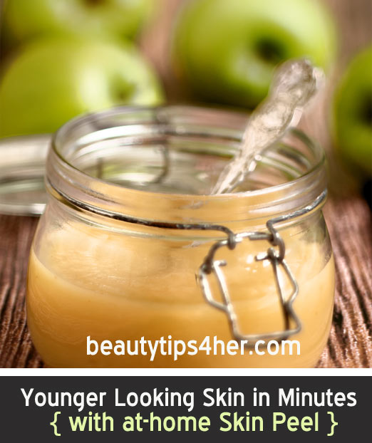 how to keep your face looking younger naturally