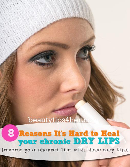 how to heal a cut lip