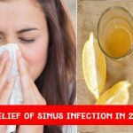 Fast relief for sinus infection