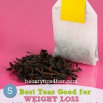 Lose Weight with These 5 Top Teas