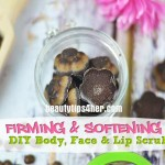 Firming and Softening DIY Body, Face and Lip Scrub