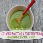 Homemade Collagen Boosting and Pore Tightening Facial Mask