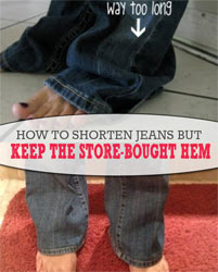 Thumbnail image for Secrets to the Perfect Hem for Jeans