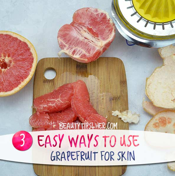 Whether You Eat It or Wear It, Grapefruit Is Good for the Skin