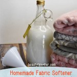 Homemade Fabric Softener – Save Money and Get Scents You Love
