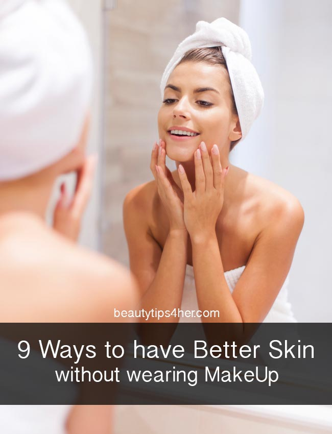 better skin without makeup
