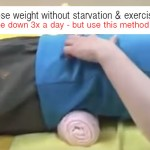 Lose Weight Without Starvation and Exercise: Lie Only 3X a Day for 5 Minutes