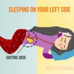 sleeping on the left side