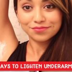 lighten underarms naturally