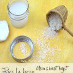 Rice Water : Asia's Best Kept Beauty Secret?