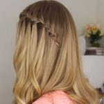 DIY Waterfall Braid Hair Tutorial