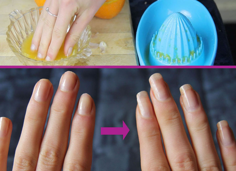 DIY Nail Soak Recipe to Grow Nails Long, Strong and Fast - Natural ...