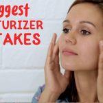 moisturizer mistakes