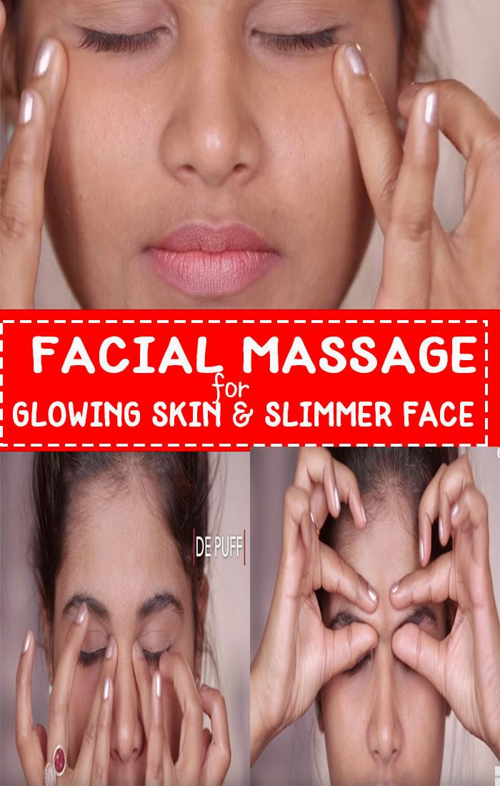 facial massage for glowing skin