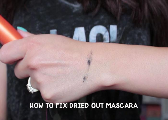 how to fix dried out mascara